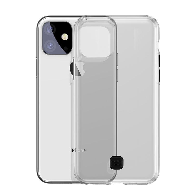 Чехол Baseus Transparent Key Phone Case For iP11 Pro Max 6.5( Black)