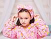 Детский халат Мишутка Eirena Nadine (28-625) на рост 128 Розовый, фото 6