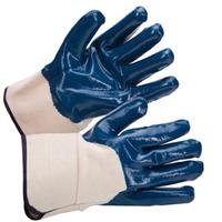 Перчатки МБС с твердым монжетом не полная заливка, Перчатки мбс полузалитые.