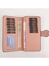 Стильный женский кошелек, клатч Baellerry Female, балери. Розовый. Кожа PU, фото 2