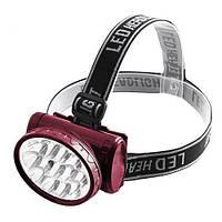 Налобный фонарь YJ-1898 LED на аккумуляторе светодиодный  и Укрине, Фонари