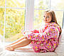 Детский халатик Мишутка Eirena Nadine (625-10) с сапожками на рост 110 розовый, фото 9