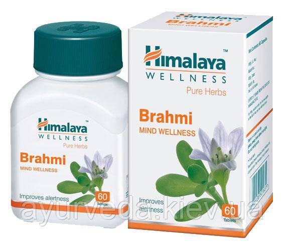 Брами, Брахми, Brami (60cap) при лечении астмы, беспокойства, ментальных расстройств, бессонницы, очищает кров