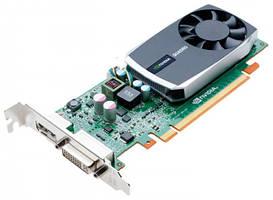 Видеокарта, Nvidia GeForce, Quadro 600, 128 бит, 1 гб