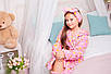 Халат на девочку Мишутка Eirena Nadine (110-625) на рост 110 Розовый, фото 9