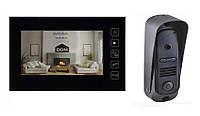 Видеодомофон Dom D7R с вызывной панелью распродажа с витрины
