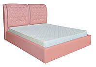 Кровать двуспальная Вегас розовый 160/180х200 см