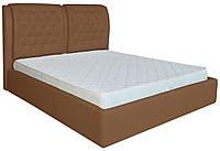 Кровать двуспальная Вегас шоколадный 160/180х200 см