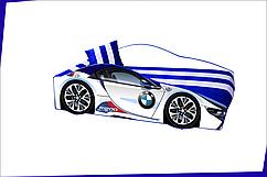 """Кровать BMW E-1 белая (серия """"ЭЛИТ"""")"""