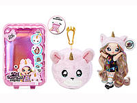Мягкая Кукла На На На сюрприз Конфети Na! Na! Na! Surprise 2-in-1 Fashion Doll & Plush Pom MGA
