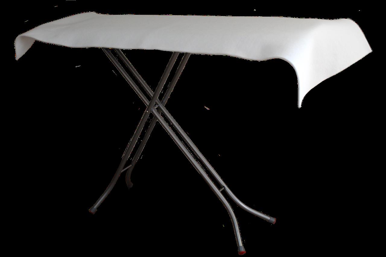Чехол для гладильной доски Профессиональный (полиэфир) QSLEEP 45*140 см белый