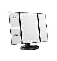 Зеркало Superstar Magnifying Mirror для макияжа с LED-подсветкой, фото 1