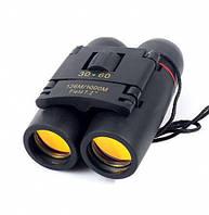 Компактний бінокль для полювання і риболовлі Sakura Binoculars 30x60 з доставкою по Україні %
