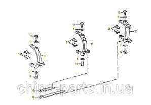 Каталог запчастей#Вилка переключения передач 5S-111GP , 5S-150GP , 4S-130GP