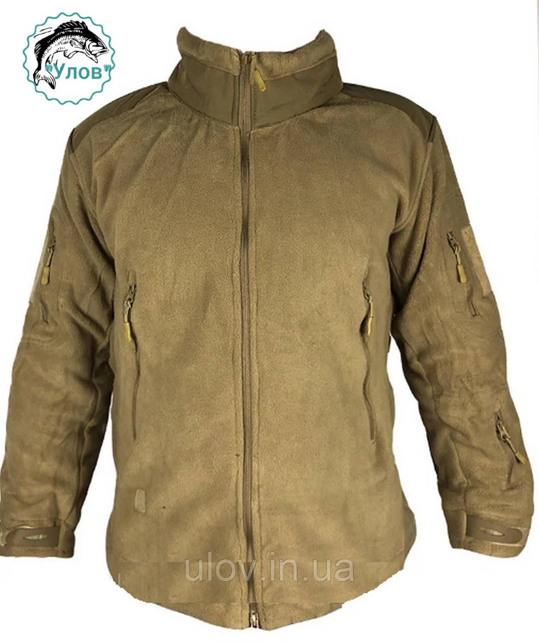 Куртка флисовая TAD GEAR Койот