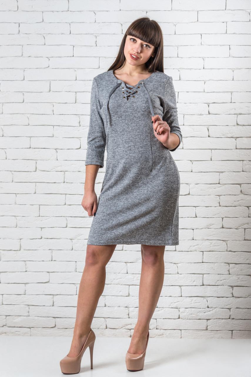 Нарядные платья  женские интернет магазин  42-48 светло-серый