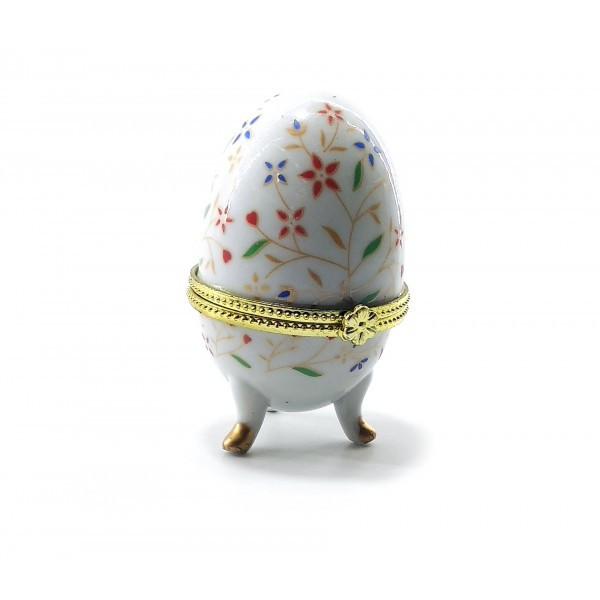 Шкатулка яйцо (7,5 х5х5см)F ( 25536F)