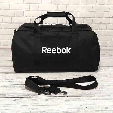Спортивная сумка Reebok UFC, рибок для тренировок, дорожная. Черная, фото 2