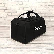 Спортивная сумка Reebok UFC, рибок для тренировок, дорожная. Черная, фото 3