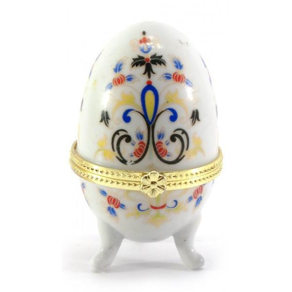 Шкатулка яйцо (7,5 х5х5см). ( 25536)