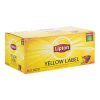 Чай чёрный в пакетиках Lipton Yellow Label 2 г х 50 шт