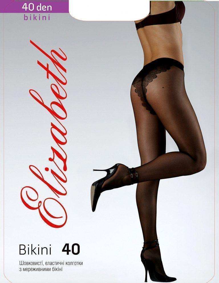 Колготки Elizabeth 40 den Bikini Charm Nero р. 2 (00120) | 5 шт.