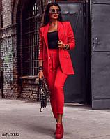 Женский стильный брюный костюм с пиджаком Разные цвета