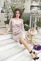 Платье для истинных леди, приталенное из бархата р.42,44,46,48 код 421А