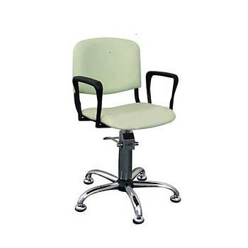 Крісло перукарське Ayala LIZA (ніжки-хром, к/з італійський)