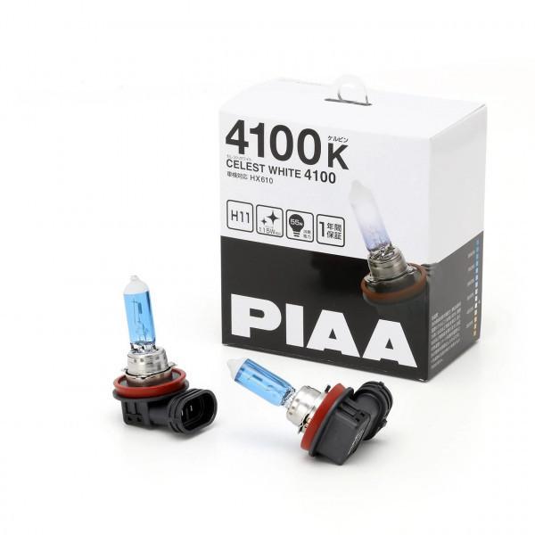 Автолампы PIAA Celest White H11 4100K