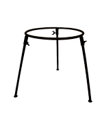 Тринога вогнище (таган) d=300 мм для казана на 6 л Тр300