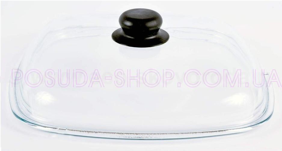 Кришка Біол скляна квадратна 28 див. КС28х28 (висока)