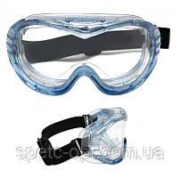 Очки 3М защитные закрытые 3М Fahrenheit 71360. Панорамные очки 3М
