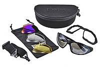 Спортивные / вело очки всесезонные со сменными линзами / защитой глаз от холодного воздуха / пыли DAISY C4