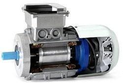 АИР132S4Е с тормозом 7.5 квт 1500 об.мин, фото 2