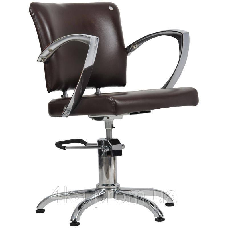 Перукарське крісло PALERMO, коричневий