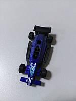 Машинка пластмассовая маленькая  синяя