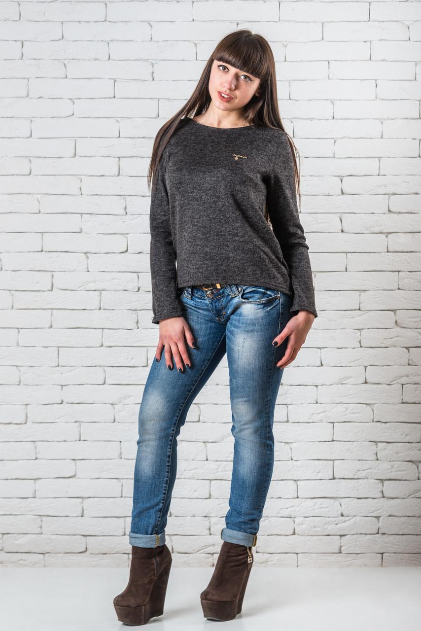 Стильные блузки модные женские   42-48 графит