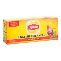 Чай чёрный в пакетиках Lipton English Breakfast 2 г х 25 шт
