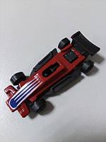 Машинка пластмассовая маленькая красная