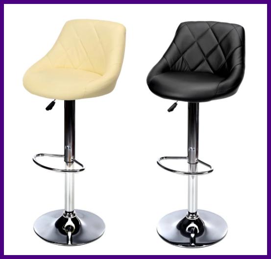 """Барный стул HOKER  SOLO  с Подставкой для ног(120 кг нагрузка)""""""""ПОЛЬША"""