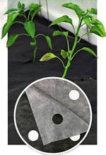 Агроволокно Agreen плотность 50 ( 1.07м х 100м) черное с перфорацией