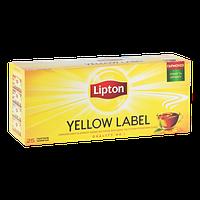 Чай чёрный в пакетиках Lipton Yellow Label 2 г х 25 шт