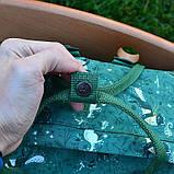 Сумка-рюкзак канкен зеленый с рисунками Fjallraven Kanken Green Fable classic 16 л, фото 4