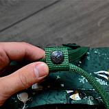 Сумка-рюкзак канкен зеленый с рисунками Fjallraven Kanken Green Fable classic 16 л, фото 5