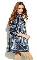 Женская куртка-парка Gusun Zaps темно-синего цвета. Коллекция весна-лето 2020