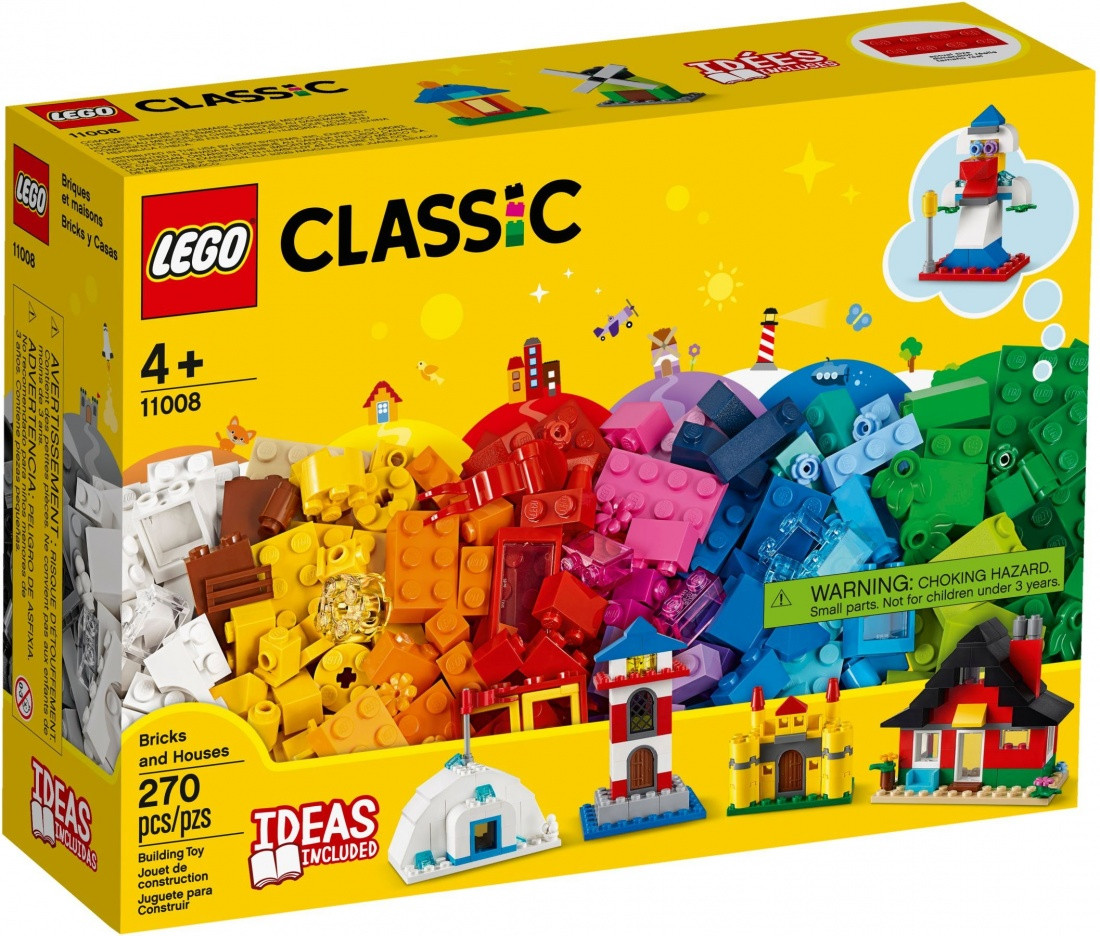 Lego Classic Кубики і будиночки 11008