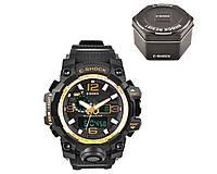 Часы наручные C-SHOCK GG-1000А Black-Gold +Box