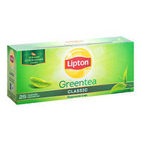 Чай зелёный в пакетиках Lipton Classic 2 г х 25 шт