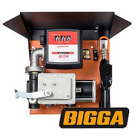 Мобильная станция для перекачки бензина с расходомером, 220 вольт, 60 л/мин